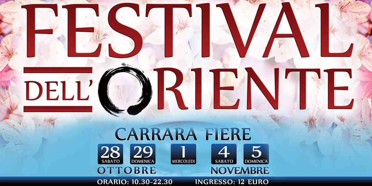 Foto articolo: Torna festival dell'oriente: a carrara, 2 weekend tra arti, culture e discipline orientali